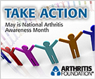 May is National Arthritis Awareness Month.